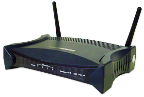 DATA CONNECT 5204AV-NRD/U wireless 802.11n VDSL2 4-port Firewall Router