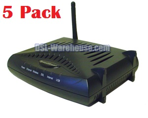 Efficient Networks SpeedStream 6520 Wireless Residential Gateway 5-PK