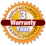 This Product Includes a 3 Year Manufacturers Warranty!